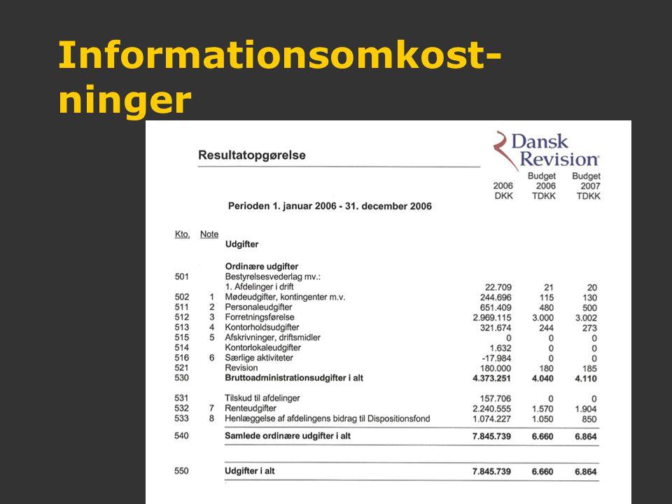 Informationsomkost-ninger