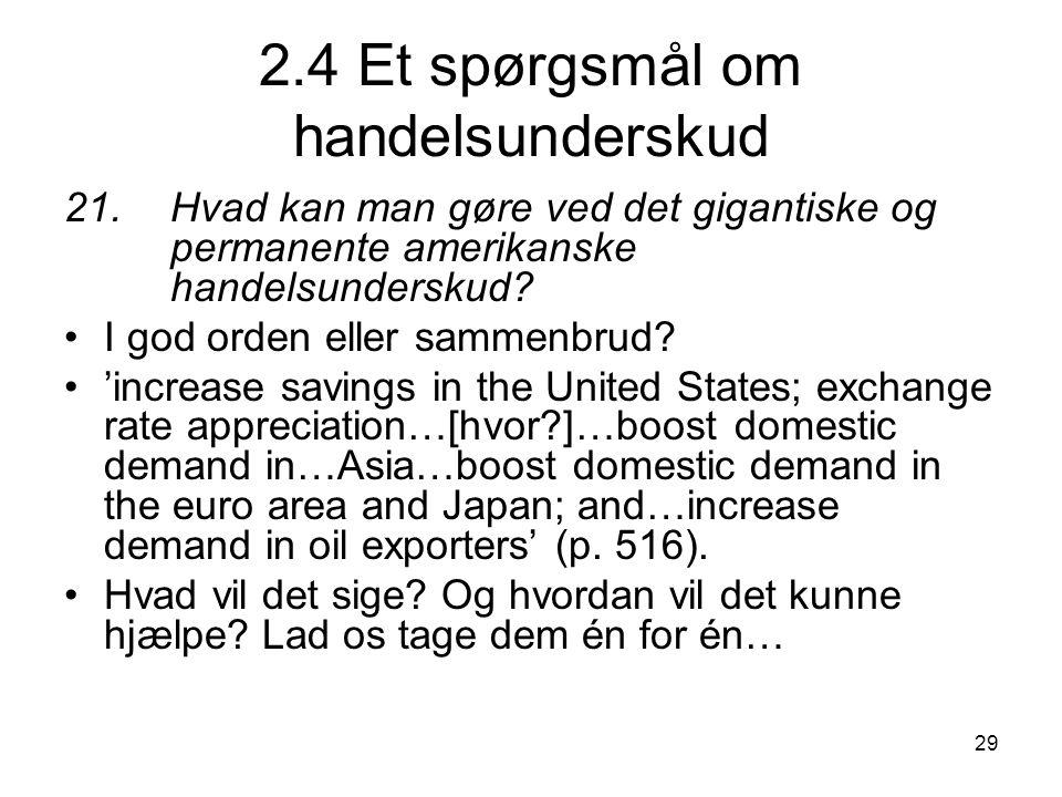 2.4 Et spørgsmål om handelsunderskud