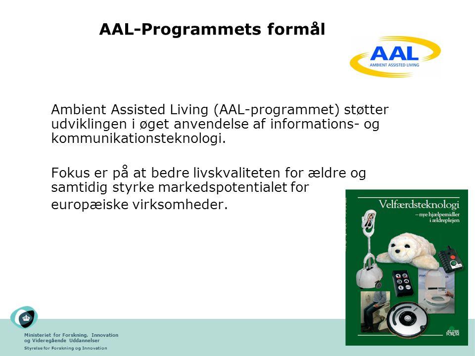 AAL-Programmets formål