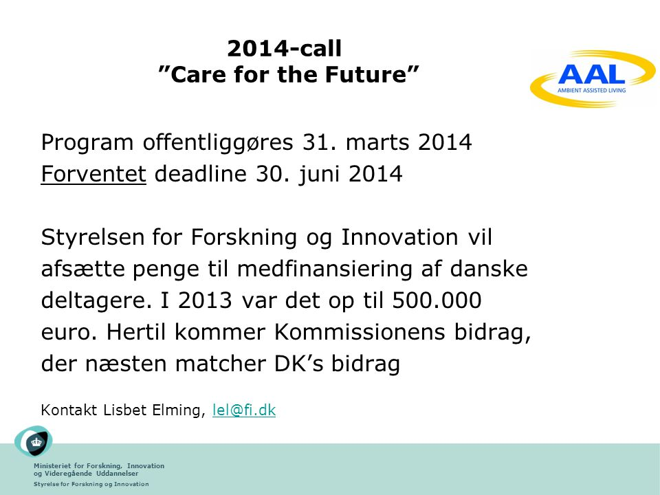 2014-call Care for the Future