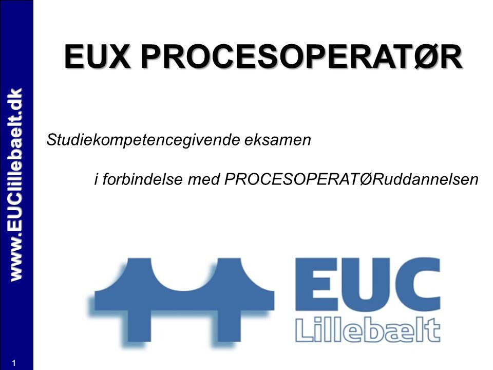 EUX PROCESOPERATØR www.EUClillebaelt.dk