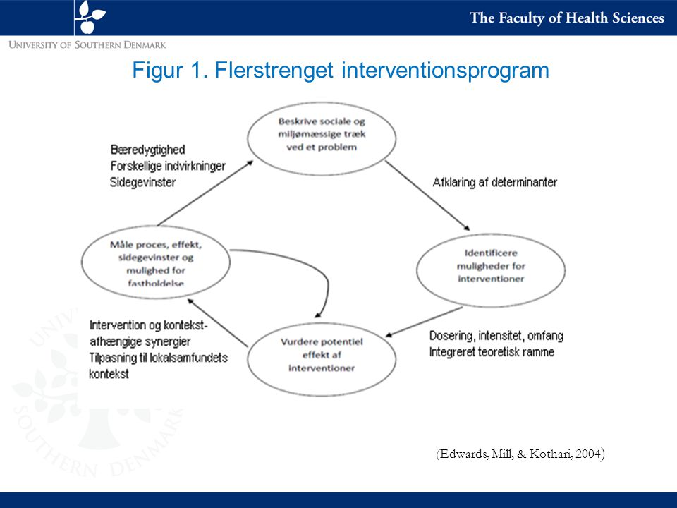 Figur 1. Flerstrenget interventionsprogram
