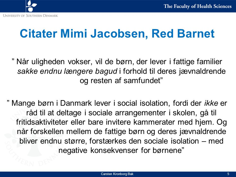 Citater Mimi Jacobsen, Red Barnet