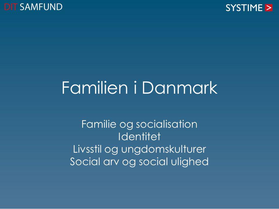 Familien i Danmark Familie og socialisation Identitet