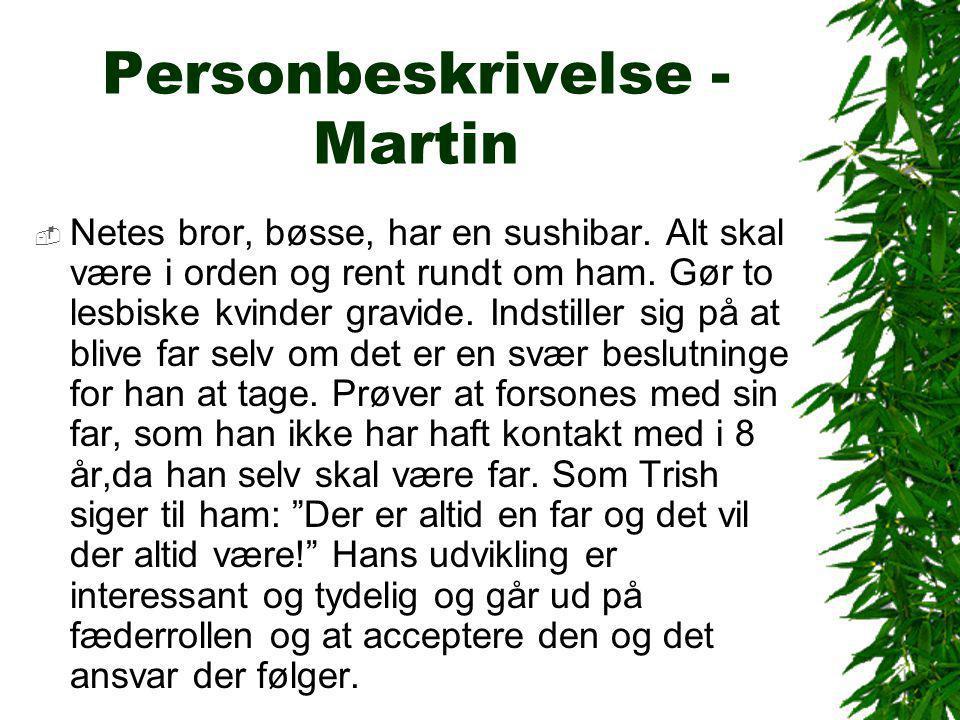 Personbeskrivelse - Martin