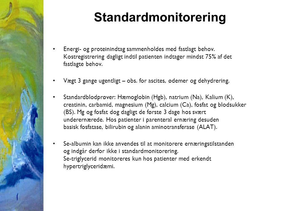 Standardmonitorering