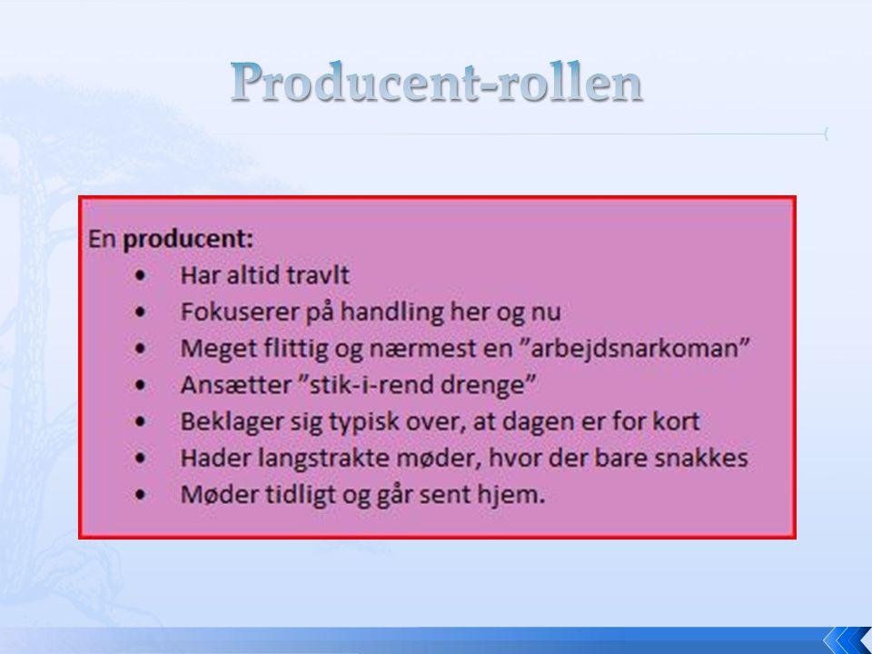 Producent-rollen