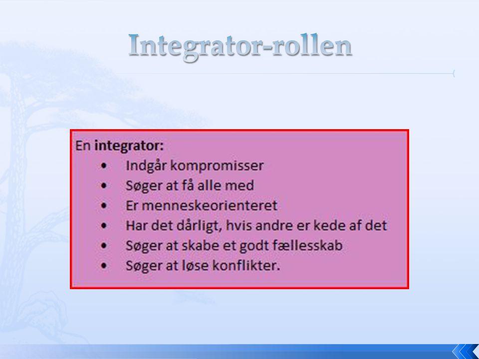 Integrator-rollen