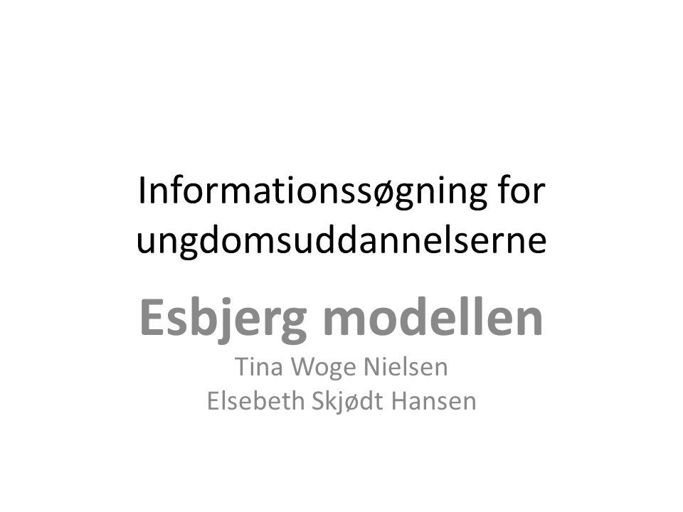 Informationssøgning for ungdomsuddannelserne