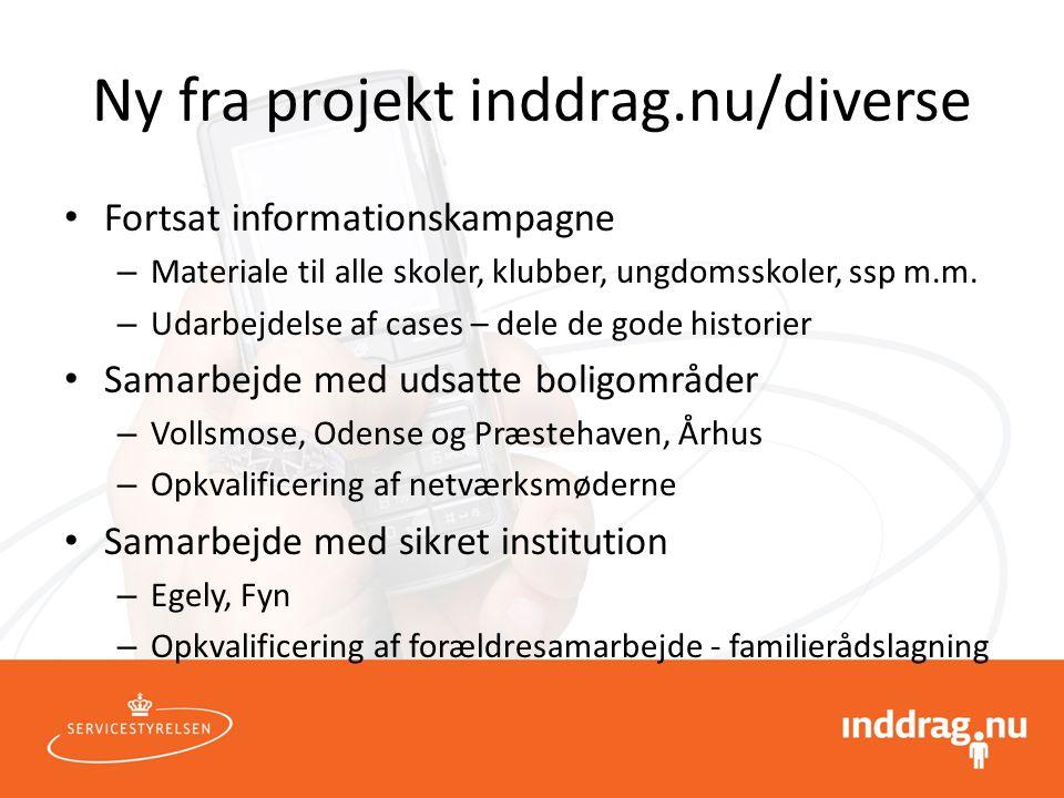 Ny fra projekt inddrag.nu/diverse