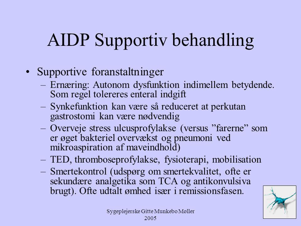 AIDP Supportiv behandling