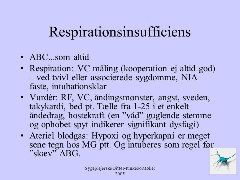 Respirationsinsufficiens