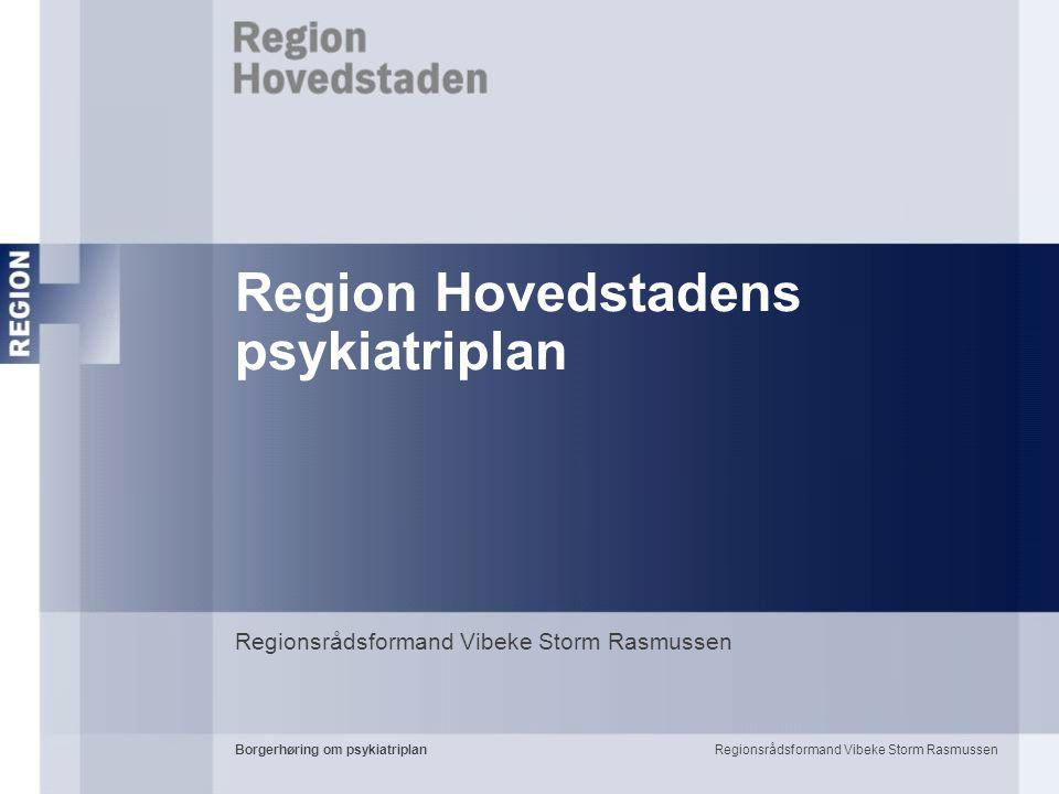 Region Hovedstadens psykiatriplan