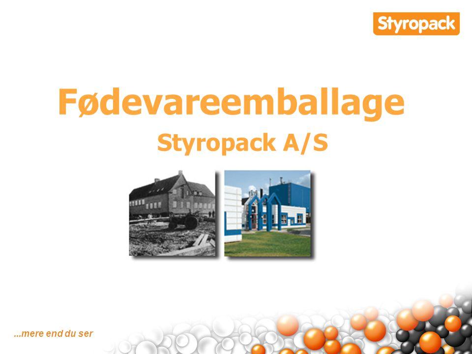 Fødevareemballage Styropack A/S