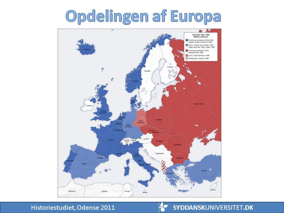 Opdelingen af Europa