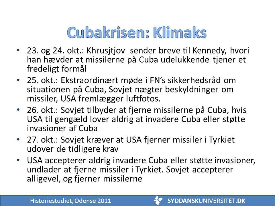 Cubakrisen: Klimaks