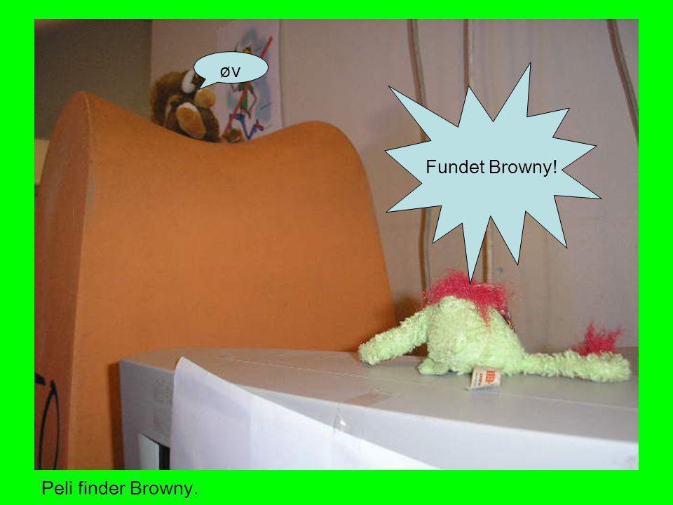 øv Fundet Browny! ØV FUNDET BROWNY!! Peli finder Browny.
