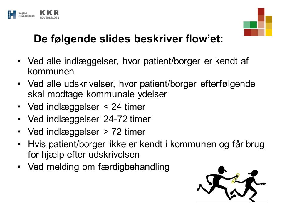 De følgende slides beskriver flow'et: