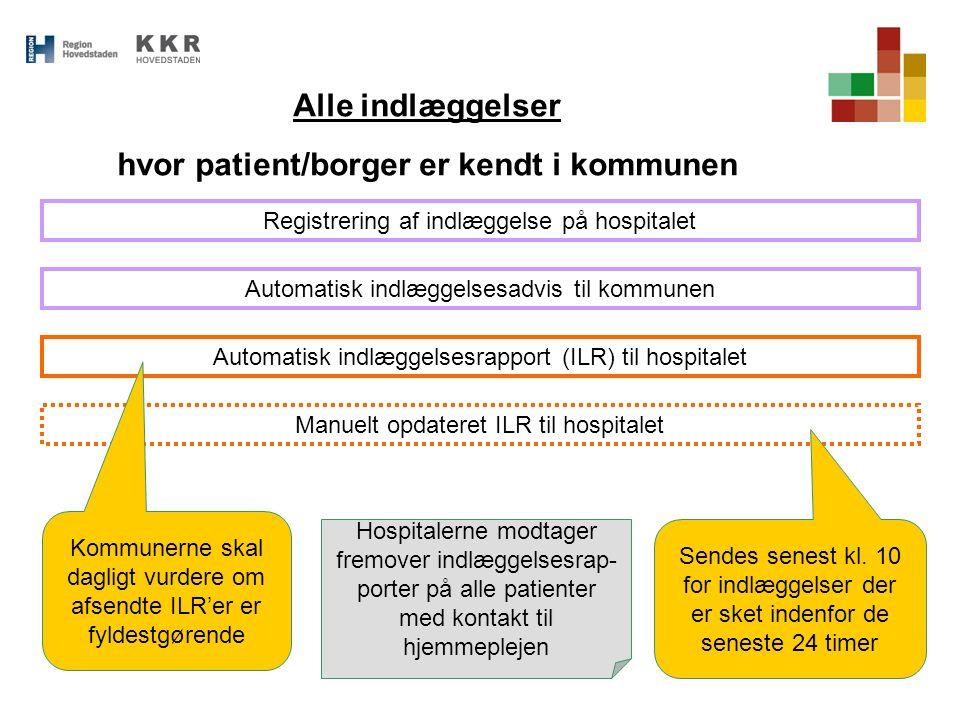 hvor patient/borger er kendt i kommunen