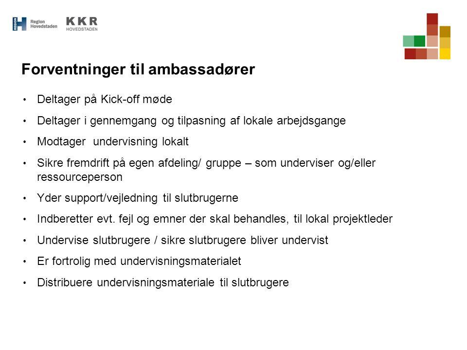 Forventninger til ambassadører