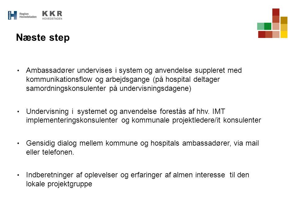 Næste step
