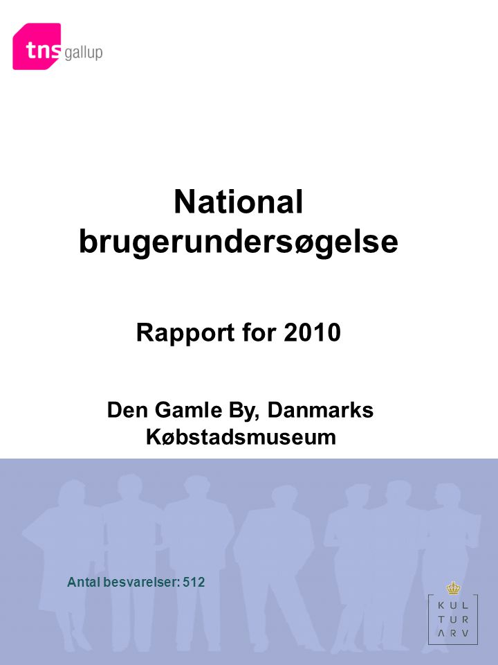 National brugerundersøgelse Den Gamle By, Danmarks Købstadsmuseum