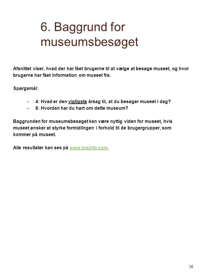 6. Baggrund for museumsbesøget