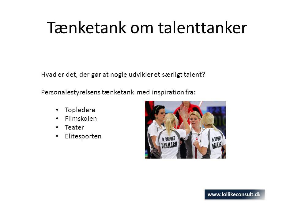 Tænketank om talenttanker