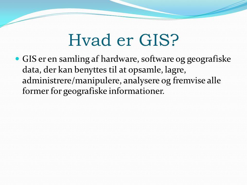 Hvad er GIS