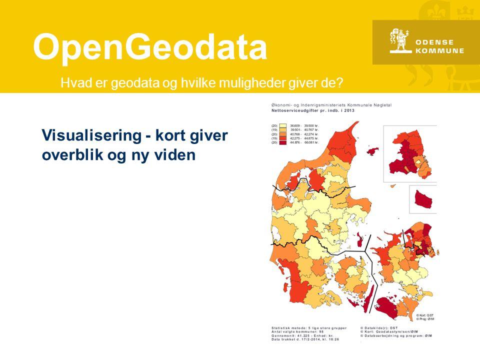 OpenGeodata Visualisering - kort giver overblik og ny viden