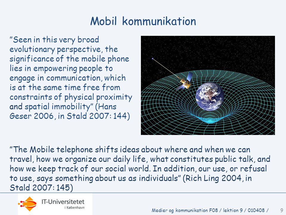Mobil kommunikation