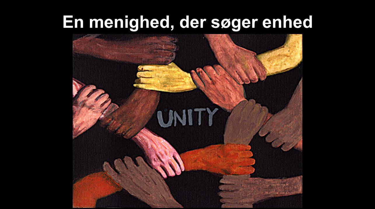 En menighed, der søger enhed