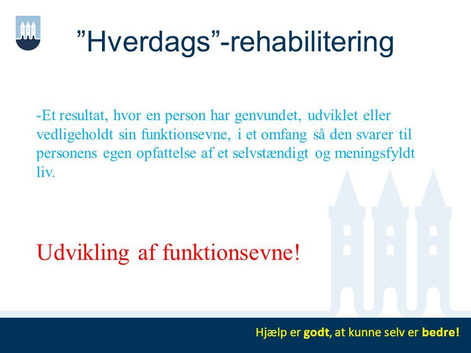 Hverdags -rehabilitering
