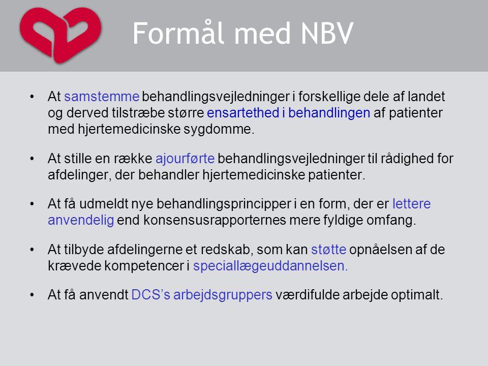 Formål med NBV