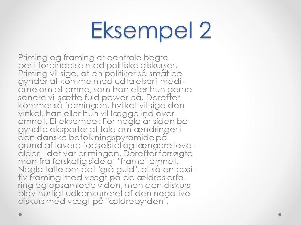 Eksempel 2