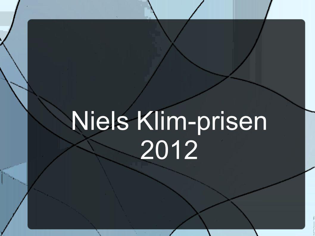 Niels Klim-prisen 2012