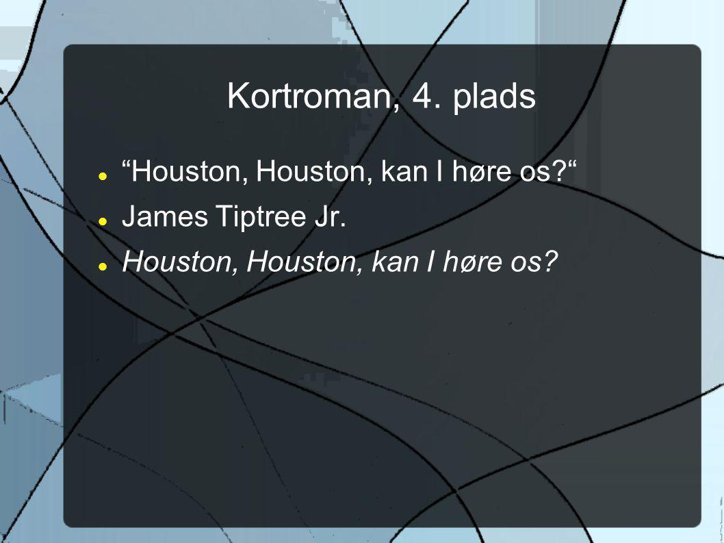 Kortroman, 4. plads Houston, Houston, kan I høre os