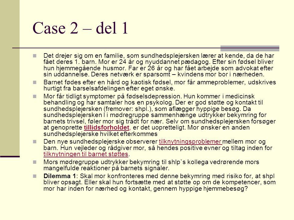 Case 2 – del 1