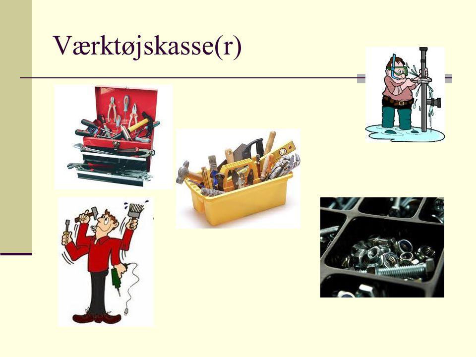 Værktøjskasse(r)