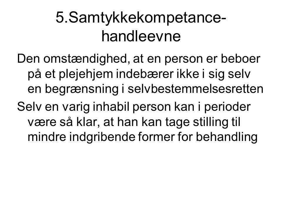 5.Samtykkekompetance-handleevne