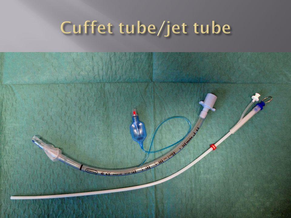 Cuffet tube/jet tube