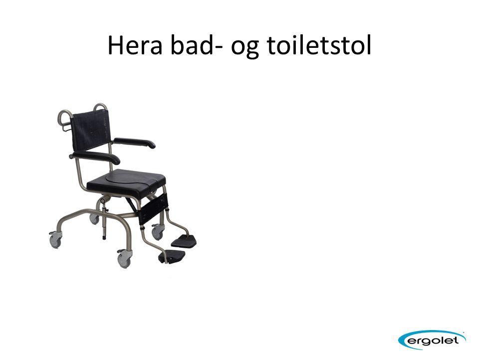Hera bad- og toiletstol