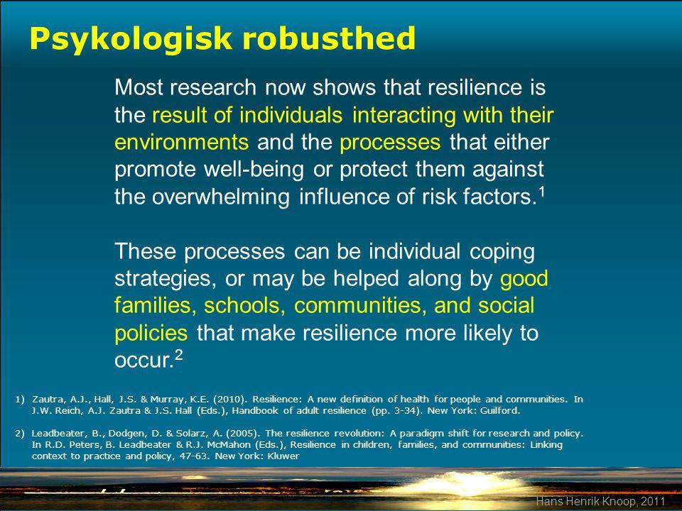 Psykologisk robusthed