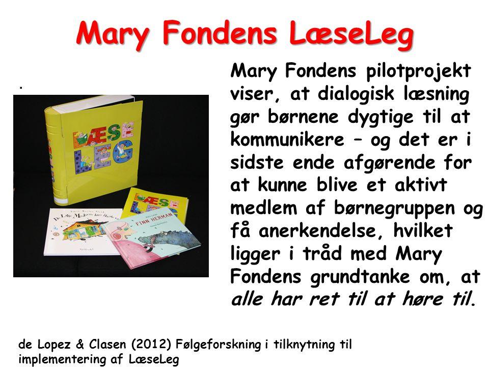 Mary Fondens LæseLeg