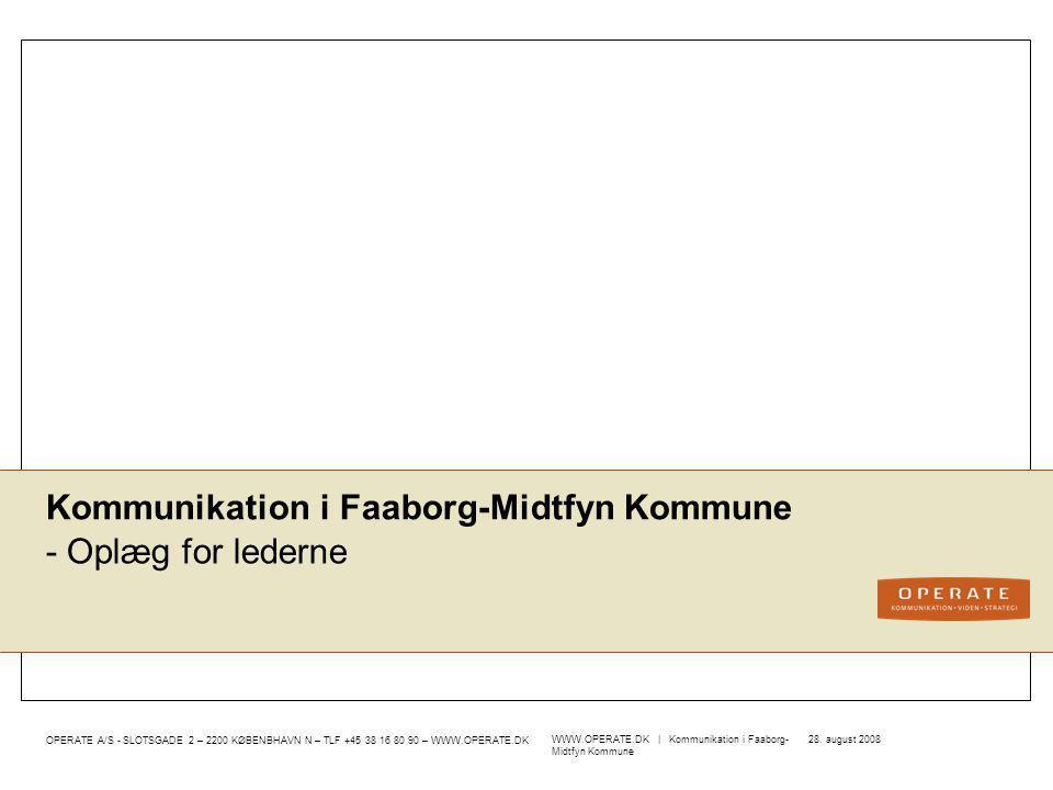 Kommunikation i Faaborg-Midtfyn Kommune