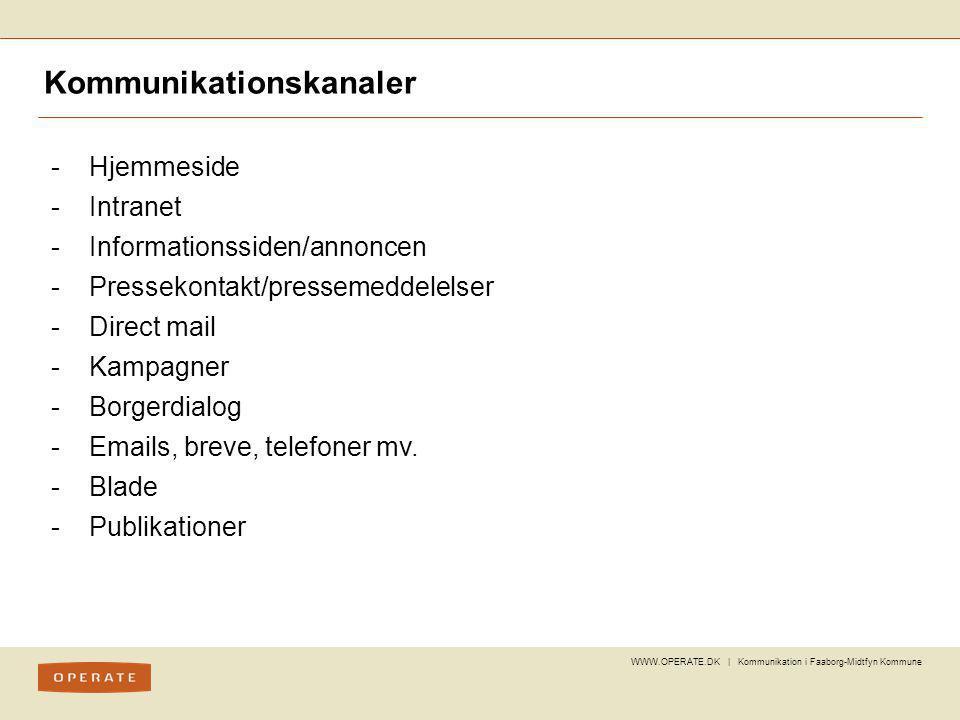 Kommunikationskanaler
