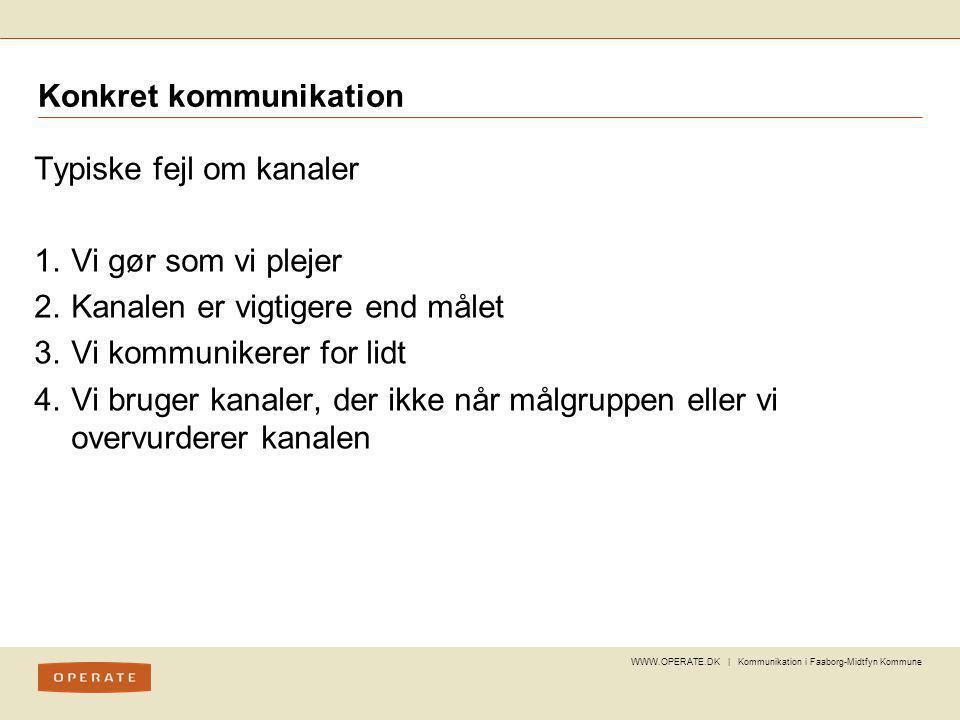 Konkret kommunikation