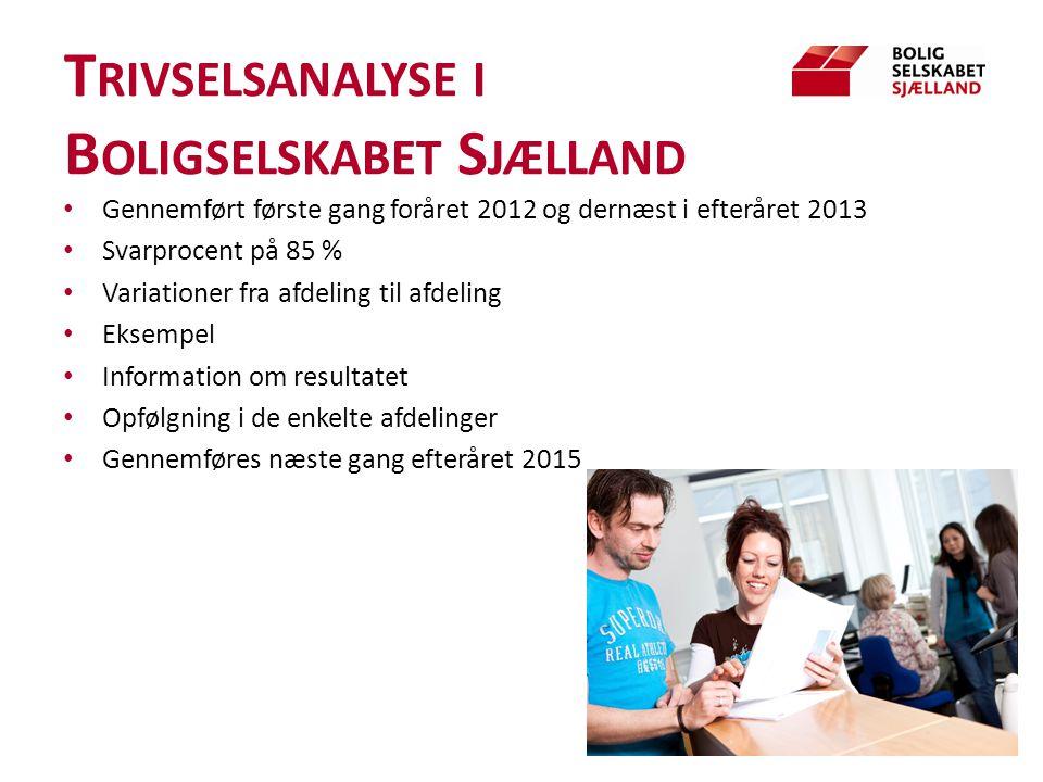 Trivselsanalyse i Boligselskabet Sjælland