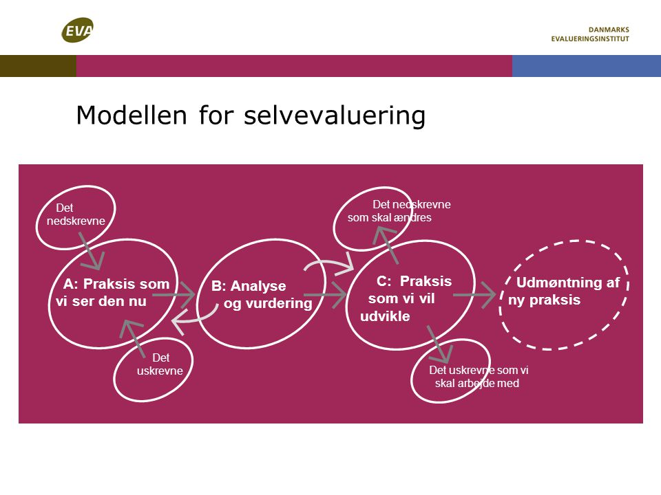 Modellen for selvevaluering