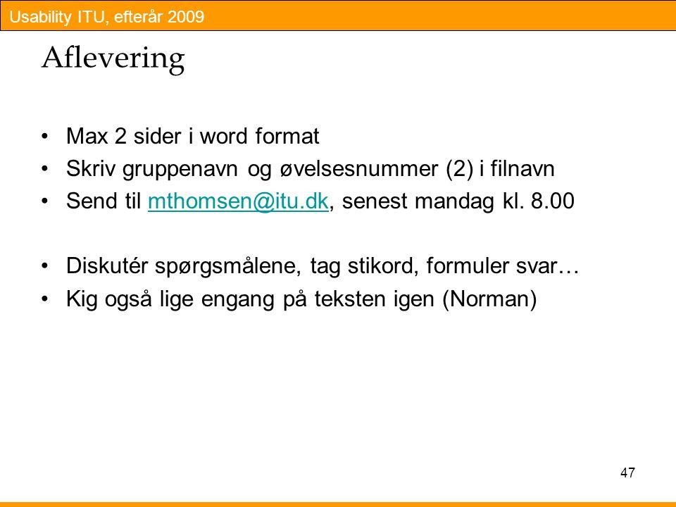 Aflevering Max 2 sider i word format